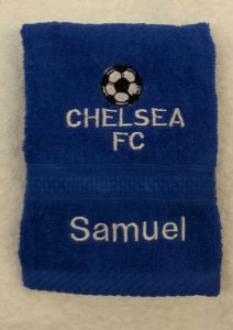 CHELSEA PERSONALISED FACE CLOTH